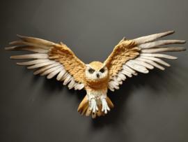 Vliegende uilen beeld wand decoratie