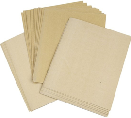 Schuurpapier 30 vellen