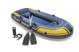 Intex Challenger 3 Opblaasboot set