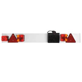 Aanhangwagen Verlichtingsbalk 4 meter kabel + Mistlicht E keur