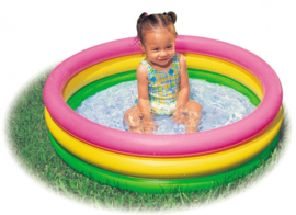 Intex  peuter zwembad 86x25cm met opblaas bodem