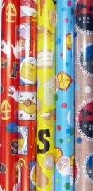 Sinterklaas Cadeaupapier Luxe 3 Mtr Mix