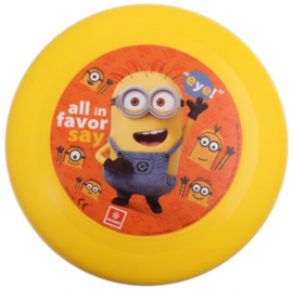 Mondo frisbee Minions kunststof 24 cm geel