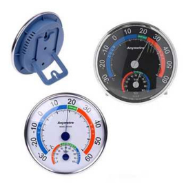 Bellson Wand Analoge Thermo- En Hygrometer