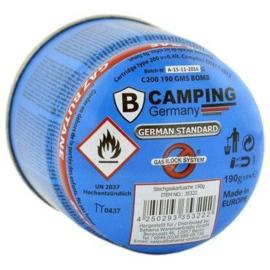 Camping gasvulling priktank