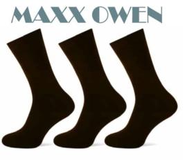 Heren Sokken Zwart Naadloos- 3 paar -  Maxx Owen
