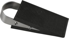 Deurstopper Rubber / RVS, 3 CM (Wigmodel)