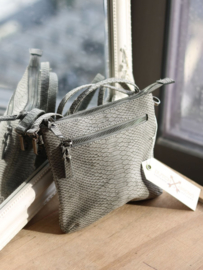 Dutch Arrows - Grey Snakerprint Ladies Bag