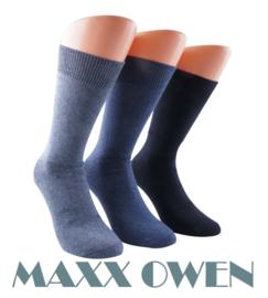 Heren Sokken Blauw Mix Naadloos- 3 paar -  Maxx Owen