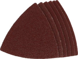 Multitool schuurpapier 6 delig hout