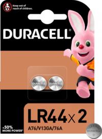 Duracell batterij - LR44 batterij - 2 stuks