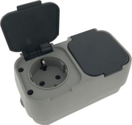WCD stopcontact - waterdicht 2V IP45