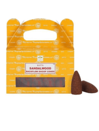 Cones-Wierook kegels Sandalwood