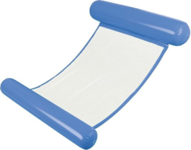 Waterhangmat Blauw - Opblaasbaar Lounge Luchtbed
