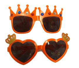 Oranje Zonnebril Kroon