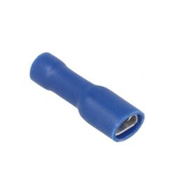 Kabelschoen 50 stuk  blauw - Insteekbreedte 4.8 mm Insteekdikte 0.8 mm