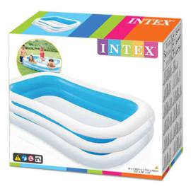 Intex Family Pool Zwembad  blauw 262x175x56cm