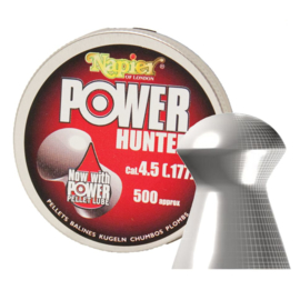 Napier power  hunter 4.5mm pellet 500 stuks