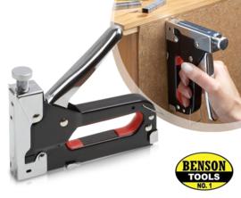 Benson Tacker Nietmachine 4-12mm | Inclusief 200 nieten |