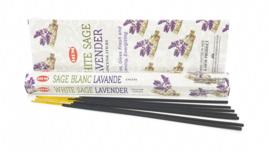 White sage lavender wierook