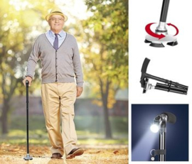 Hofftech Magic Cane Wandelstok Easy Ergo Met LED Lamp