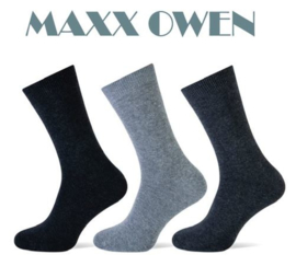 Heren Sokken Antraciet Mix Naadloos- 3 paar -  Maxx Owen