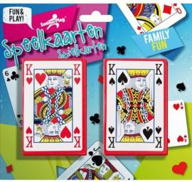Speelkaarten set 2 delig