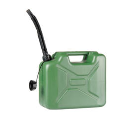 Benzine Jerrycan - Army - 10Liter - Groen