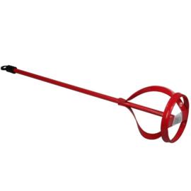 Verfmixer 115 X 600 mm - rood
