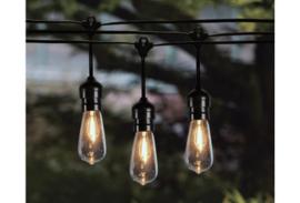 Solar lichtsnoer voor buiten -LED 10 lampen op zonne-energie
