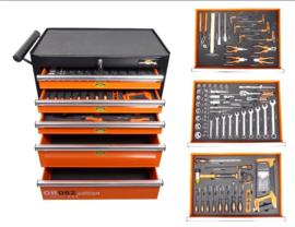 BENSON 82-delige gereedschapswagen Orange Edition