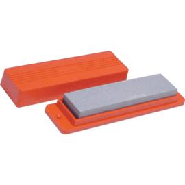 Wetsteen 15 cm - Fijn / Grof - in box