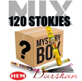 Wierook mix doos 120 stokjes!