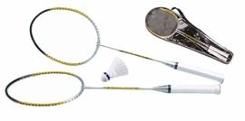 Badminton set luxe met opbergtas
