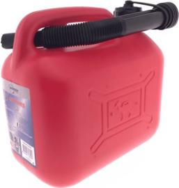 Jerrycan 5 liter met vloeistofmeter