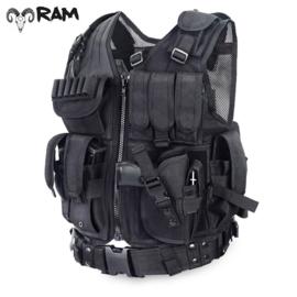 Tactical Airsoft Vest Zwart