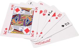 Extra Grote Speelkaarten Groot XL - 12 x 8 cm