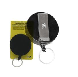 Roller Clip Met Trekkoord Voor Pas / Sleutel