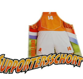 Oranje Holland schort
