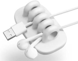Quirky Cordies kabelorganizer - wit