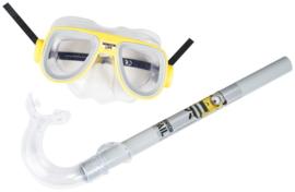 Duikmasker en snorkel