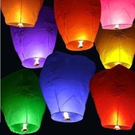 Wensballon XL kleur