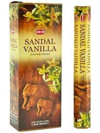 Sandal Vanilla wierook