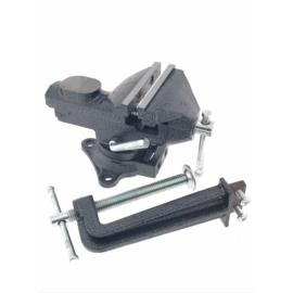 Bankschroef - 2-in 1- 75 mm - 360 graden draaibaar