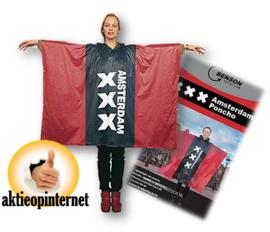 Regenponcho Poncho Regenjas - XXX Amsterdam