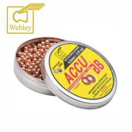 Webley AccuBB® 4.5mm-serie is een full-lead BB