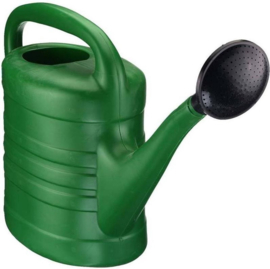 Kunststof Gieter met Broes 5 Liter Groen
