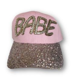 Cap BABE rose