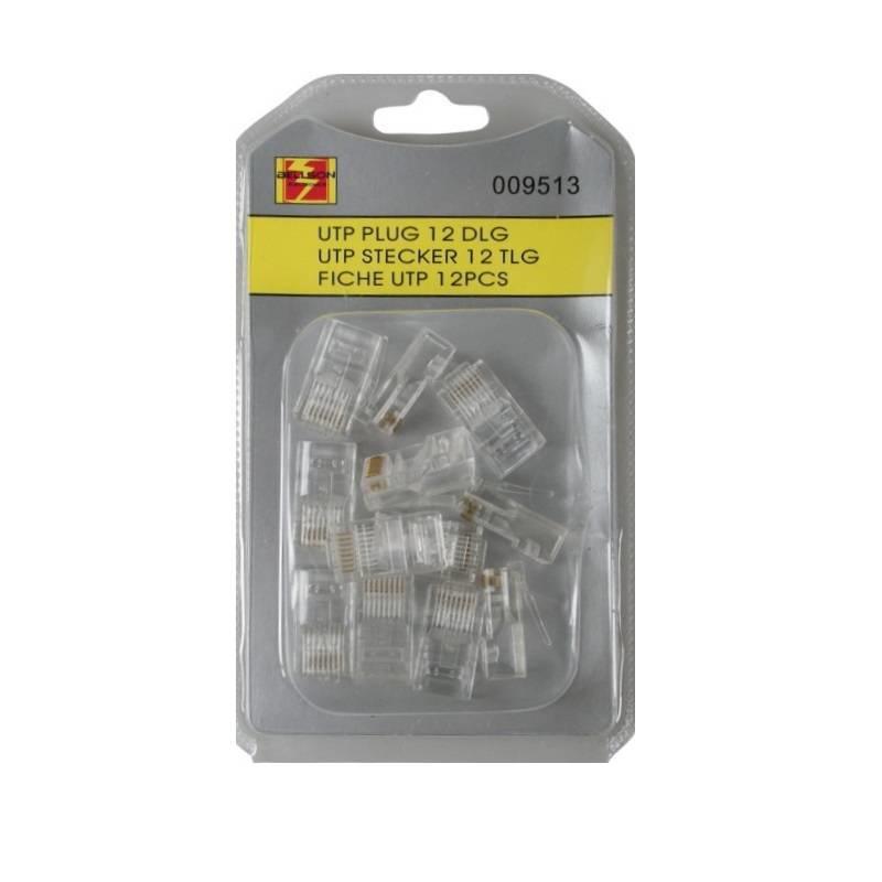 UTP RJ45 Cat5 netwerk pluggen Crimp (12 stuks)