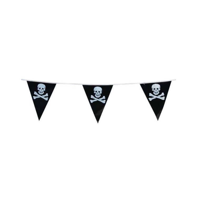 Vlaggenlijn piraat (7m)